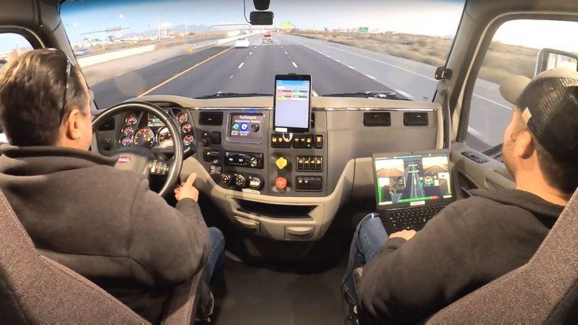 TuSimple autonomous truck