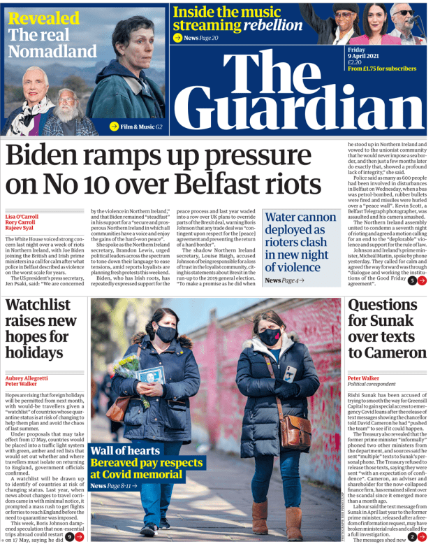 The Guardian Friday