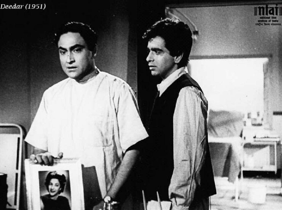 Dilip Kumar in a still from Deedar
