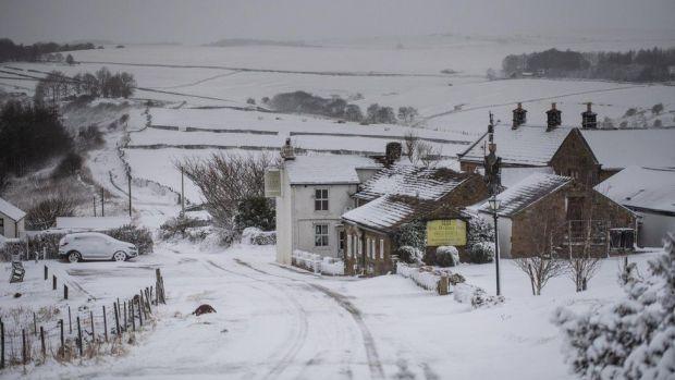 Eyam in Derbyshire