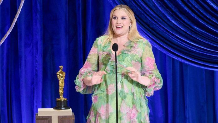 Emerald Fennell at the Oscars