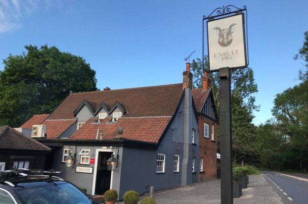 The Unruly Pig, Bromeswell