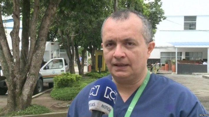 Surgeon Juan Paolo Serrano