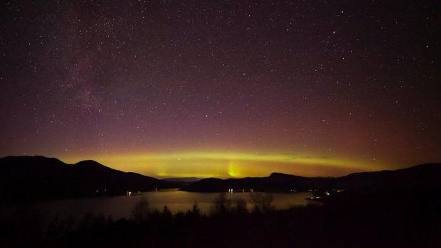 Aurora from Glenelg