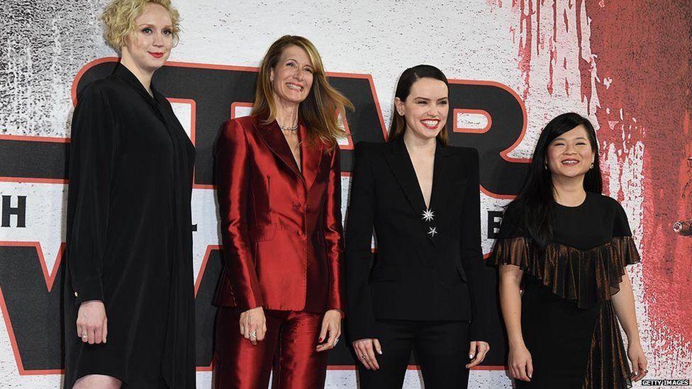 Gwendoline Christie, Laura Dern, Daisy Ridley, Kelly Marie Tran