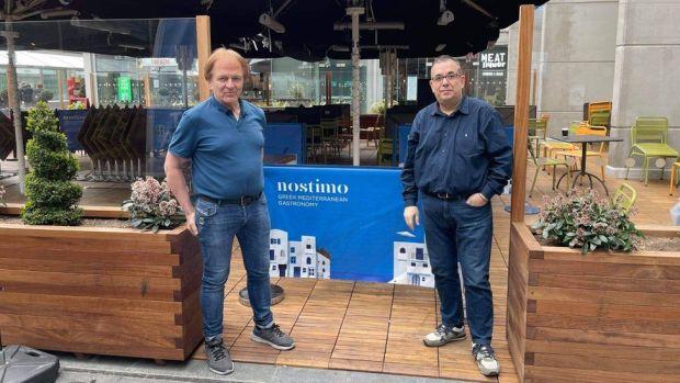 Nikos Panteleakis and Michael Petsalakis
