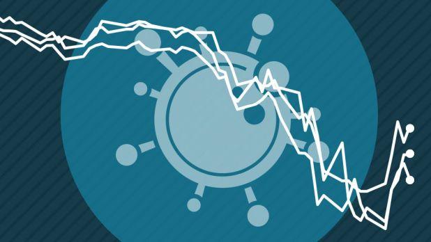 Coronavirus economic graphic