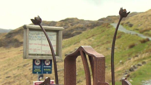 It seemed quiet in Snowdonia