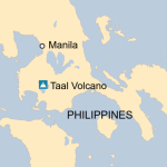 Philippines Volcano Thousands Evacuated As Taal Spews Ash Bbc News