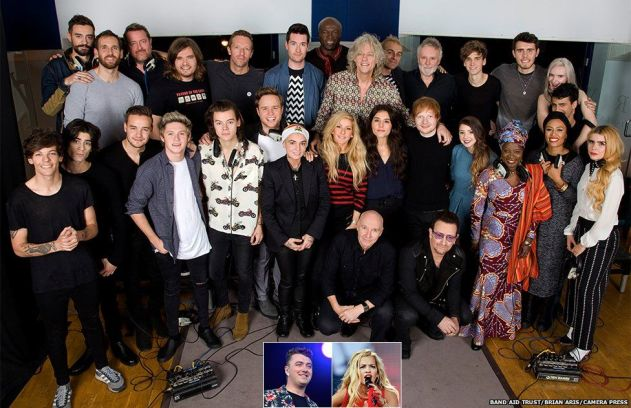 Band Aid 30 Artist lineup 2014