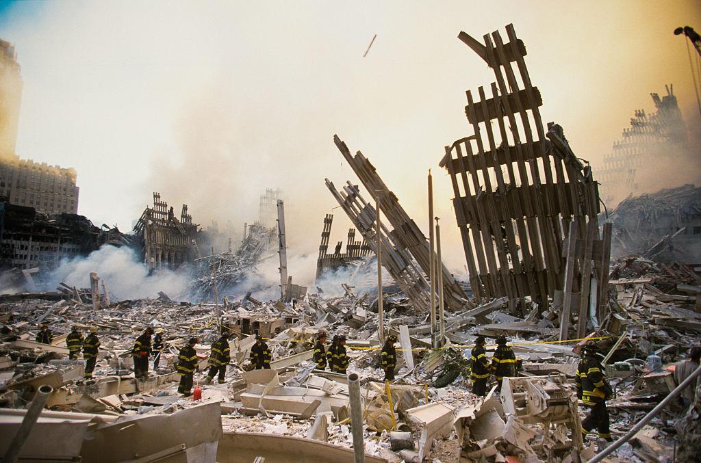 El World Trade Centre quedó reducido a escombros.
