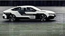 El modelo RS7 de Audi que rompió el récord de velocidad para un auto sin conductor