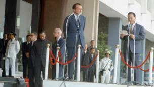 Tổng thống Thiệu và Tổng thống Nixon