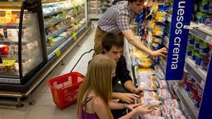 Supermercado en Argentina