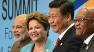 Líderes dos Brics (AFP)