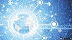 Ilustración de conexción a internet.