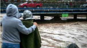 Desborde del río Copiapó