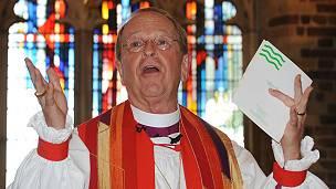 El obispo Gene Robinson