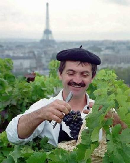 Un agricultor francés