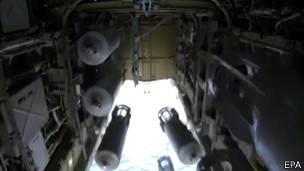 Bombas lanzadas por Rusia contra Estado Islámico en Siria