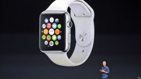 Primer reloj inteligente de Apple