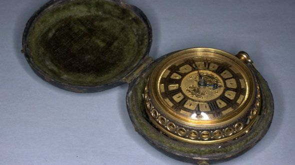 Reloj de bolsillo del inglés Thomas Tompion