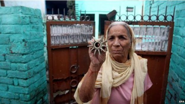 भारतीय महिला, अरनिया, कश्मीर