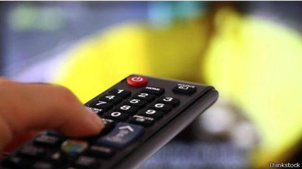 Control remoto para el televisor