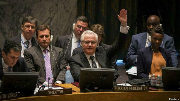 Embajador ruso en la ONU