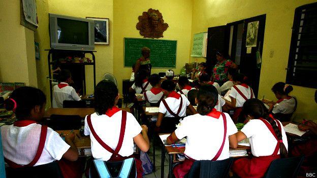 Escuela en Cuba