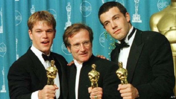 Matt Damon, Robin Williams, Ben Affleck