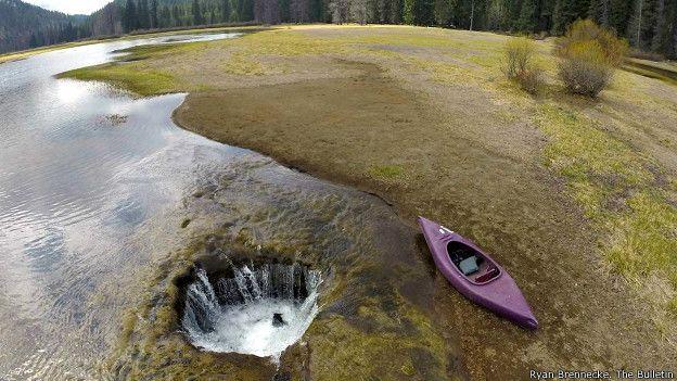 Lago perdido de Oregón