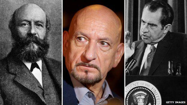 George Cadbury, Ben Kingsley y Richard Nixon