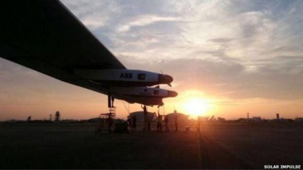 حال نجاح رحلة الطائرة عبر الهادي، ستكمل رحلتها عبر أمريكا الشمالية، ثم تعبر المحيط الأطلسيي.