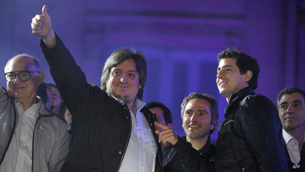 Máximo Kirchner, hijo de Cristina Fernandez, presidenta de Argentina
