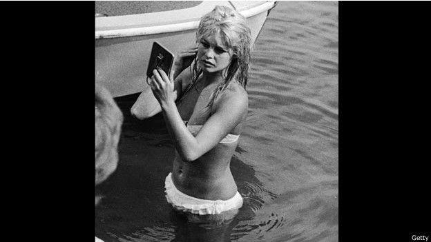 Brigitte Bardot en 1961