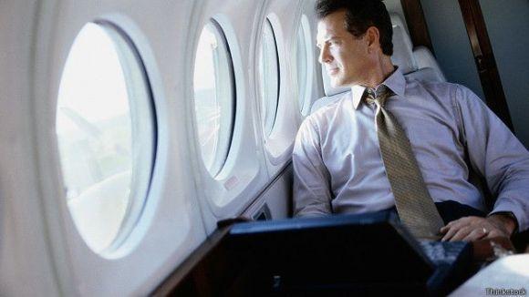 Uçak yolcusu