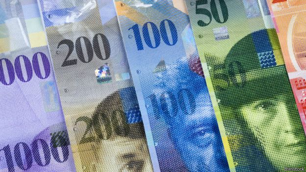 Un solo billete de la nación helvética equivale a US$1.020.