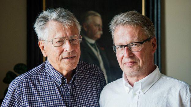 Erland (izq.) y Joakim Larsson