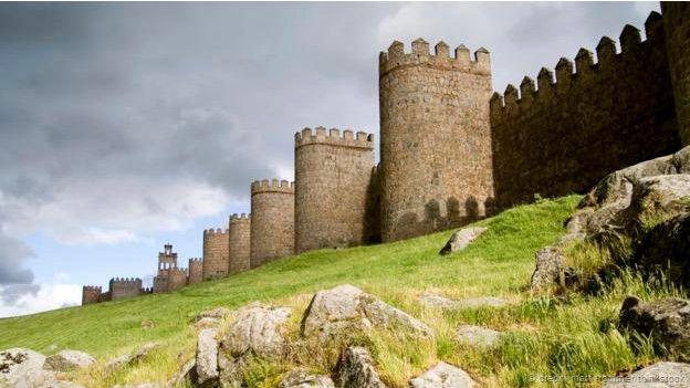 La ciudad de Ávila