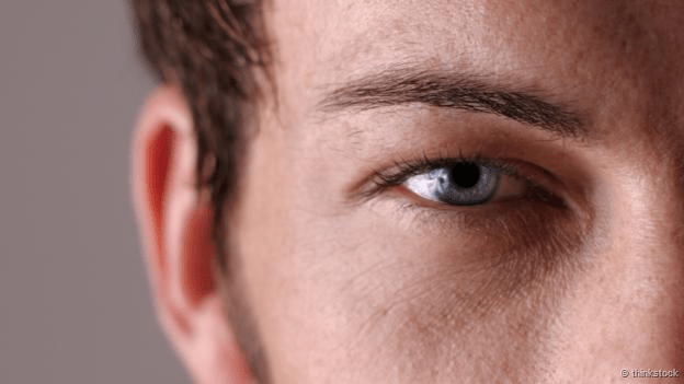Un close up del rostro de una persona