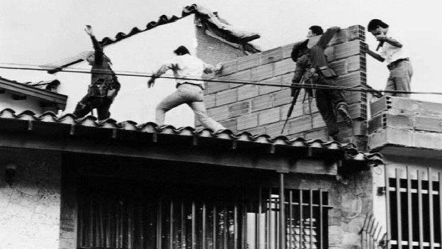 La fuga final de Escobar