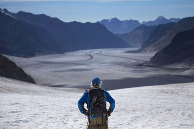 Glaciar Aletsch
