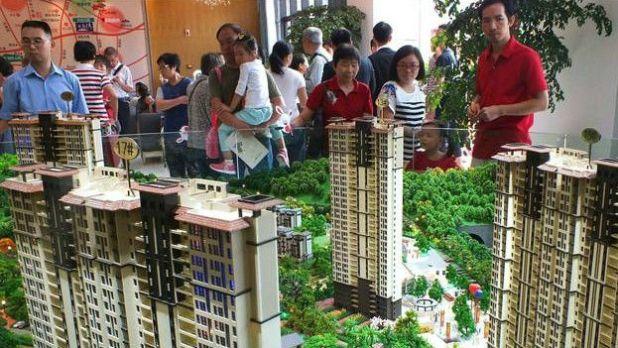 Maquetas de viviendas chinas