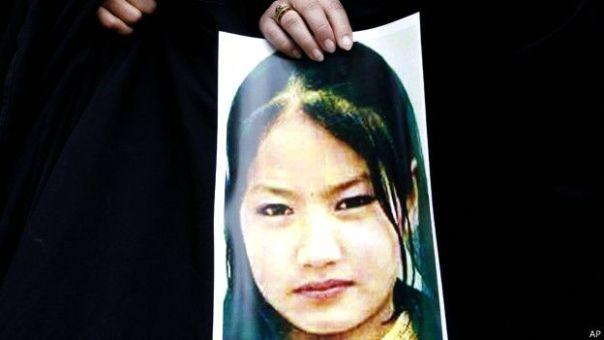 Imagen de una de las víctimas de la minoría Hazara