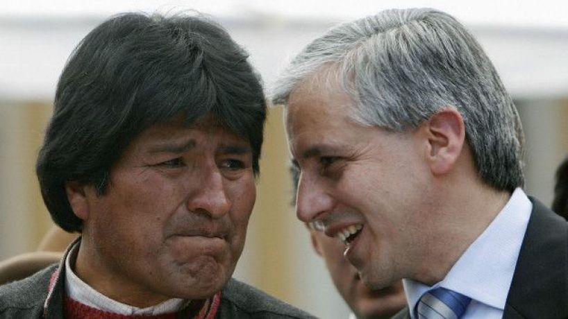 Evo Morales en 2008