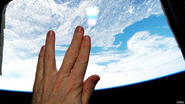 Vista de a Tierra desde el espacio