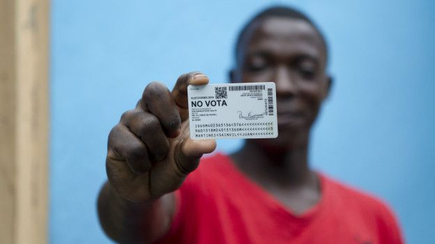 Muchos dominicanos con origen haitianos no pueden votar en las elecciones porque no tienen los papales de identidad.