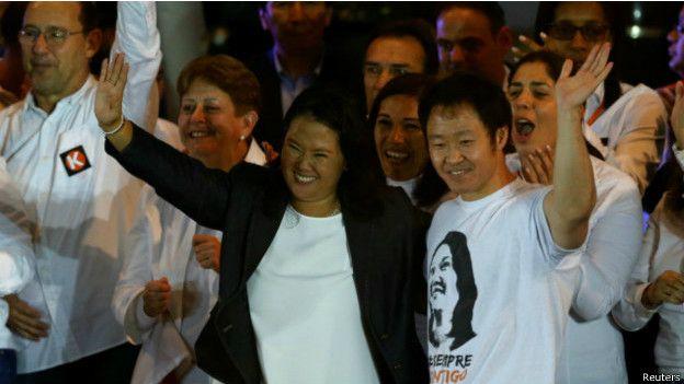 Keiko y Kenji Fujimori