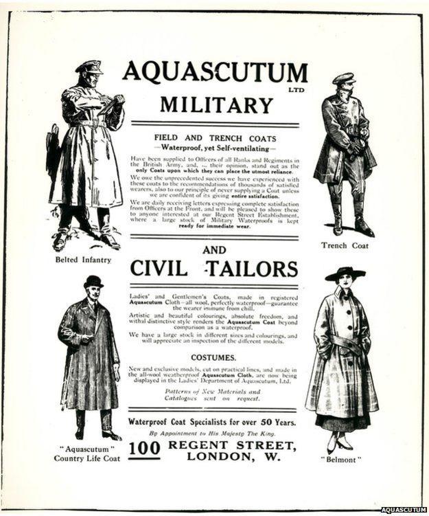 Aviso de Aquascutum